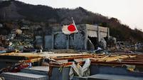 Japanische Flagge in den Trümmern | © SRF