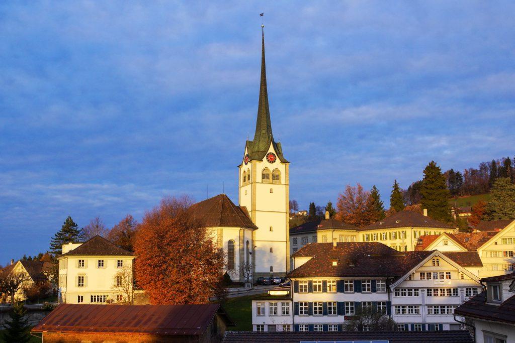 Kirche in Teufen © SRF/Hans Zürcher